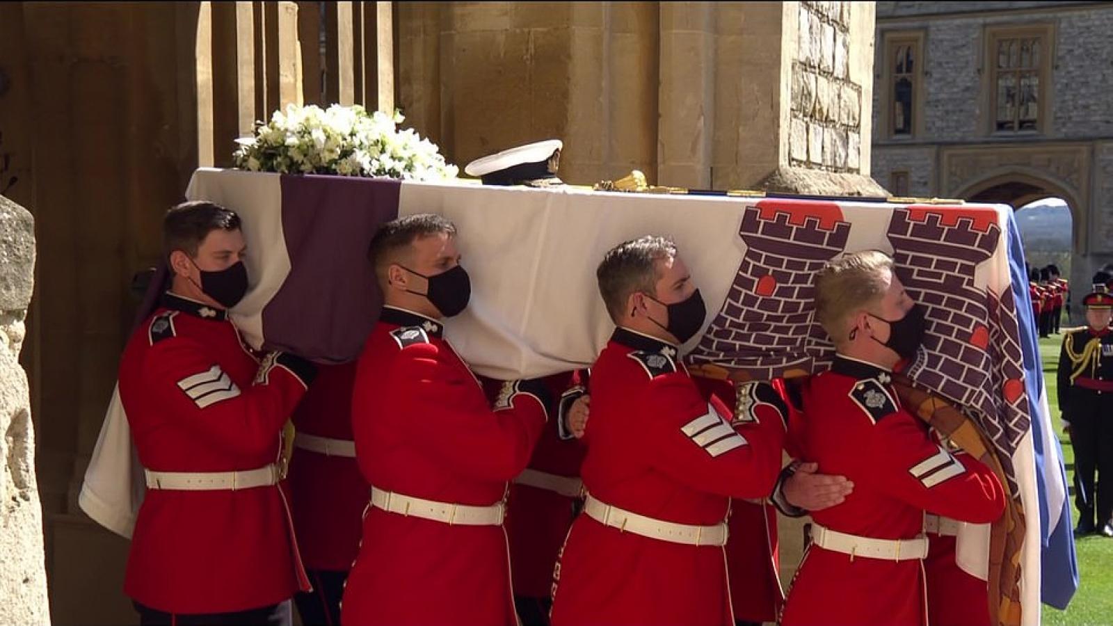 Toàn cảnh tang lễ đặc biệt của Hoàng thân Philip
