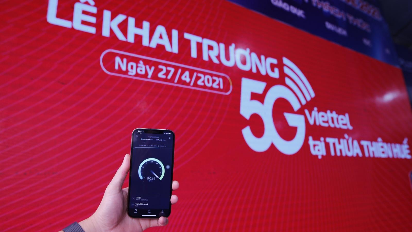 Viettel khai trương mạng 5G tại Thừa Thiên Huế, chính thức cung cấp 5G trên iPhone