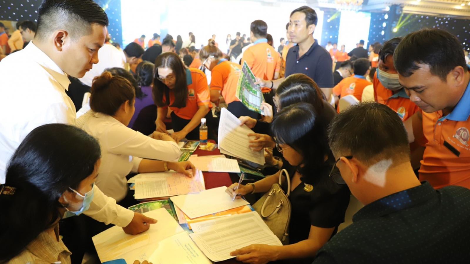 Kim Oanh Group bán hết 100% dự án New Land trong buổi sáng ra mắt