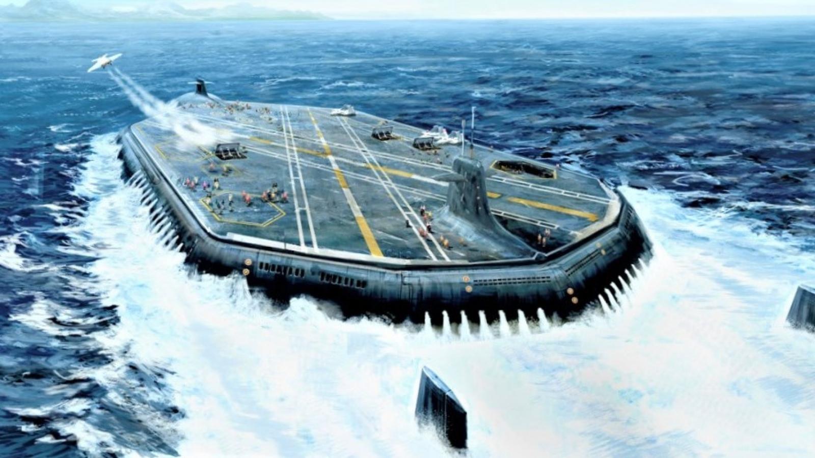 Tàu sân bay ngầm: Ý tưởng hoàn toàn khả thi