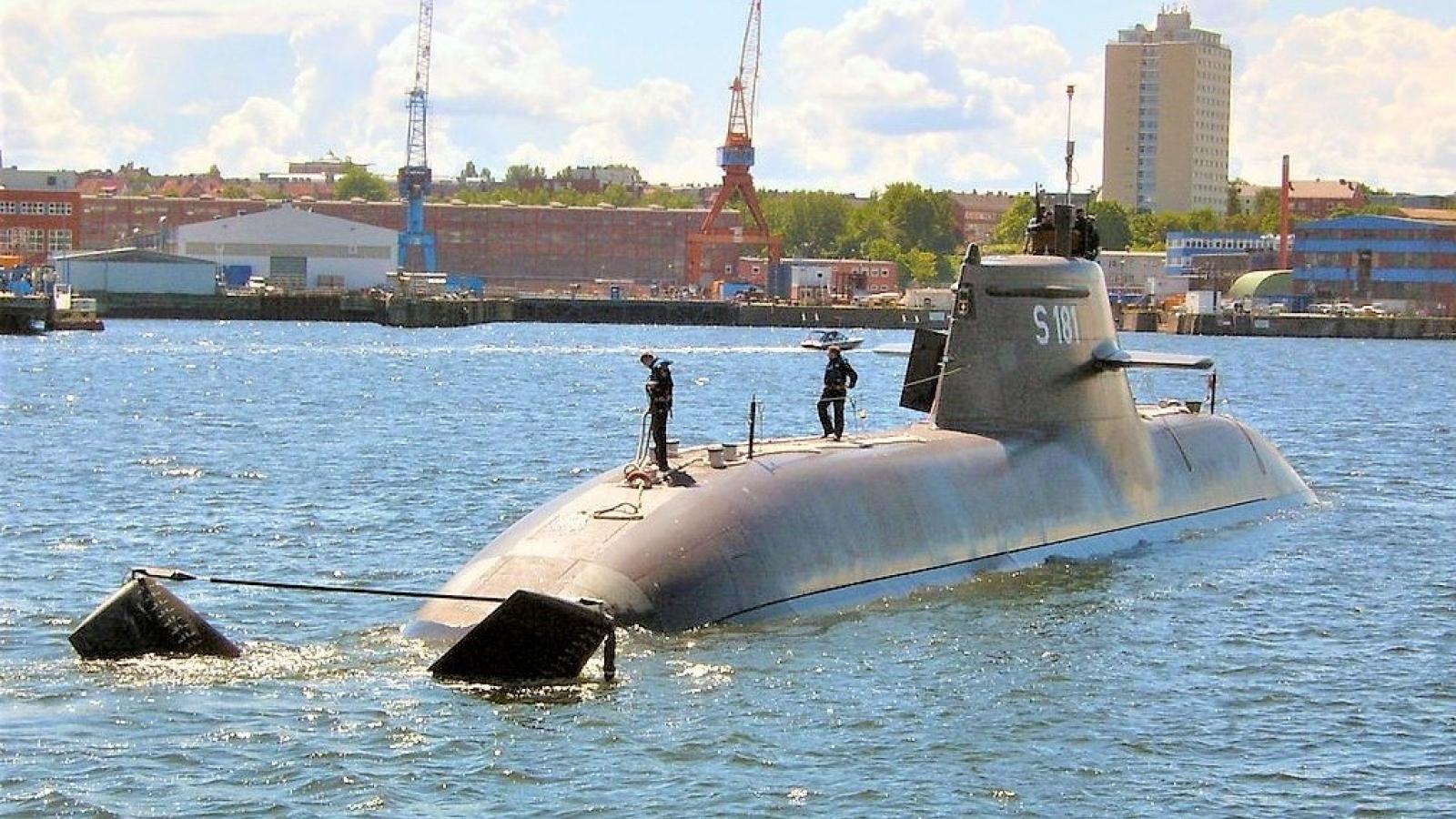 Đức và Na Uy đặt mua tàu ngầm phiên bản 212CD cho thập kỷ tiếp theo
