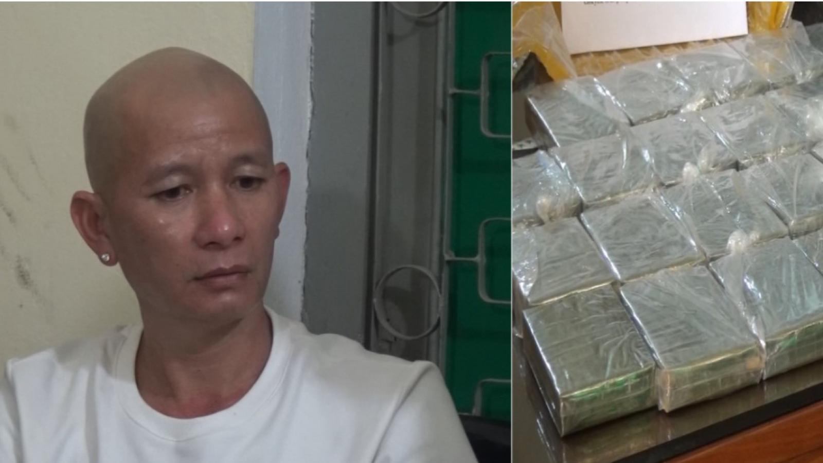 Vận chuyển 30 bánh herointừ Điện Biên về xuôi tiêu thụ