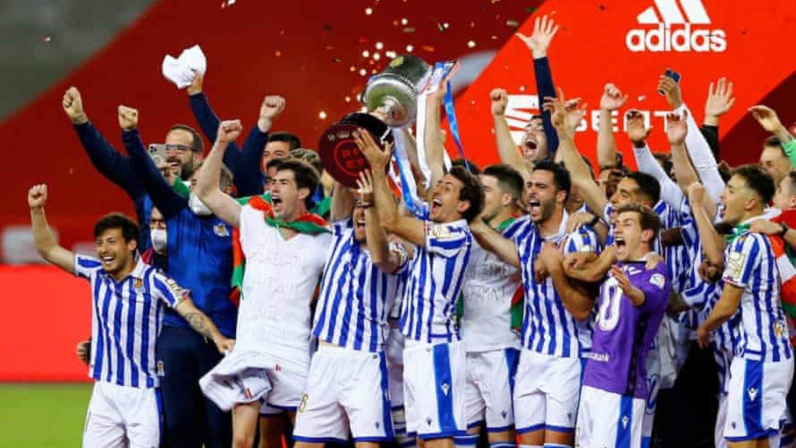 Sociedad vô địch Cúp Nhà vua Tây Ban Nha sau trận chung kết đặc biệt