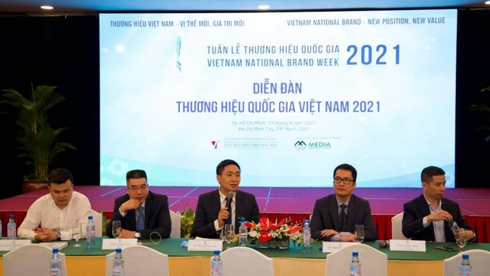 Tận dụng đòn bẩy Thương hiệu Quốc gia - Nâng tầm thương hiệu Việt
