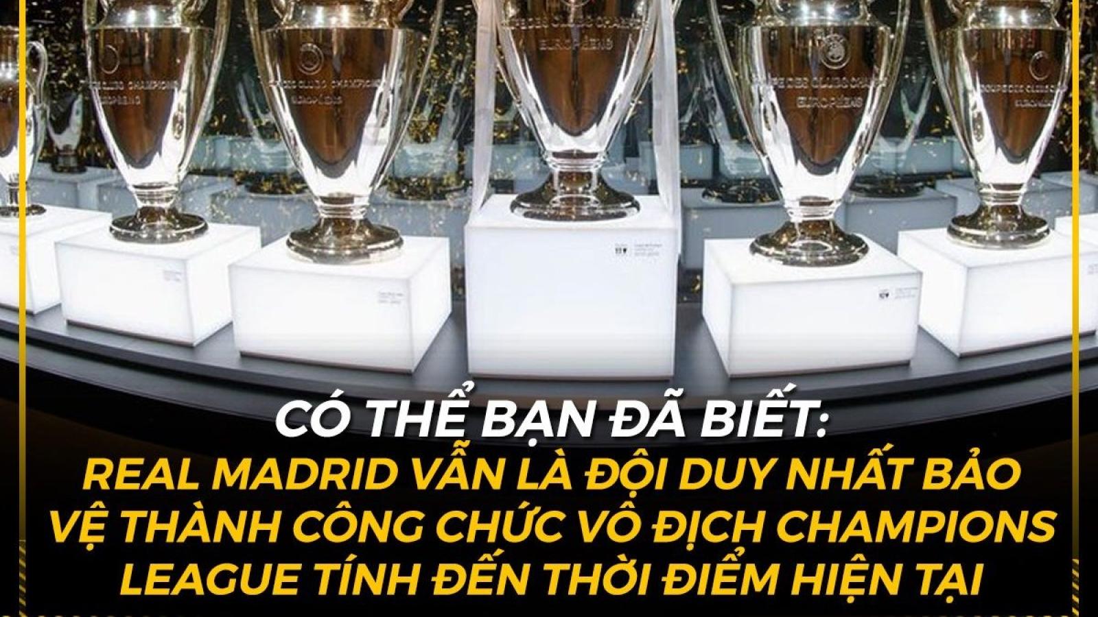 Biếm họa 24h: Real Madrid duy trì kỷ lục khó tin ở Champions League