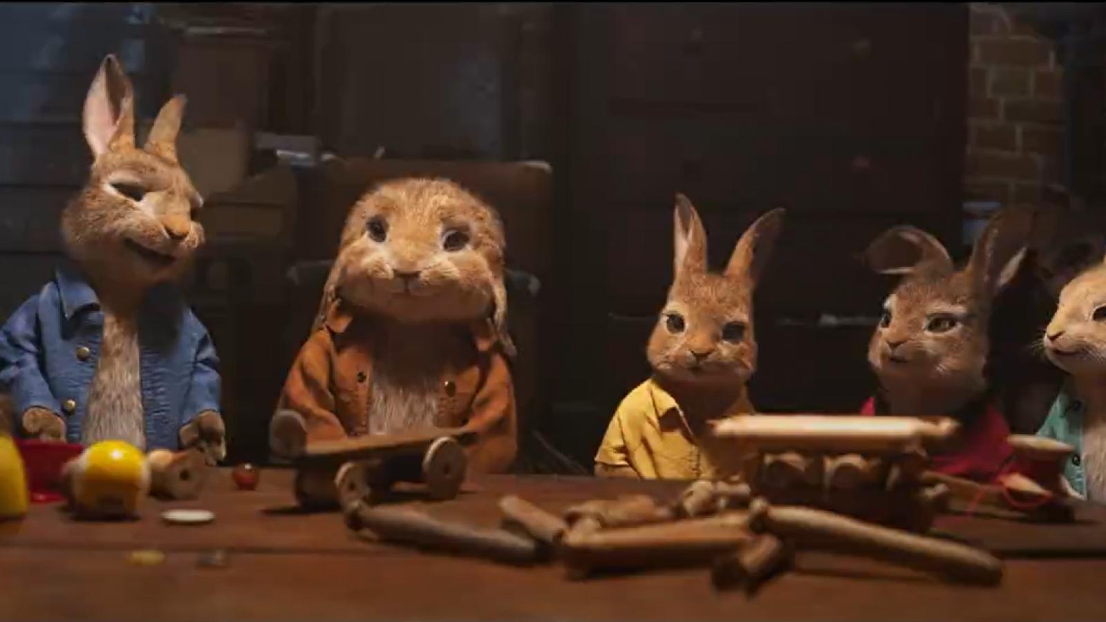 """""""Thỏ Peter 2"""" chính thức trở lại sau thời gian hoãn vì Covid-19"""