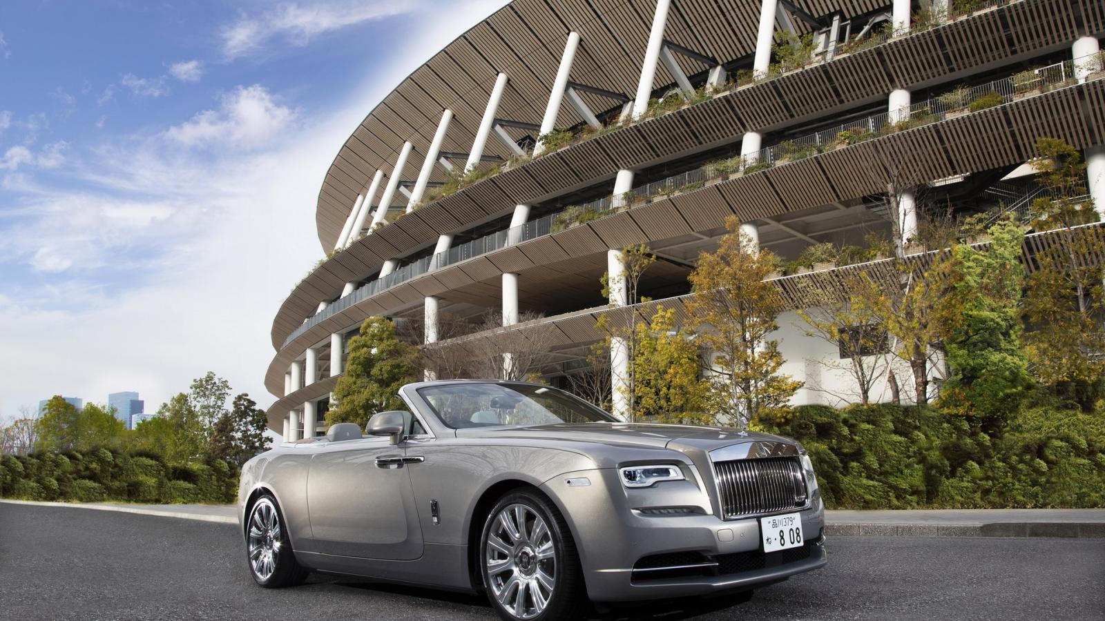 """Rolls-Royce Dawn """"The Kita"""" lấy cảm hứng từ một tòa nhà Nhật Bản"""