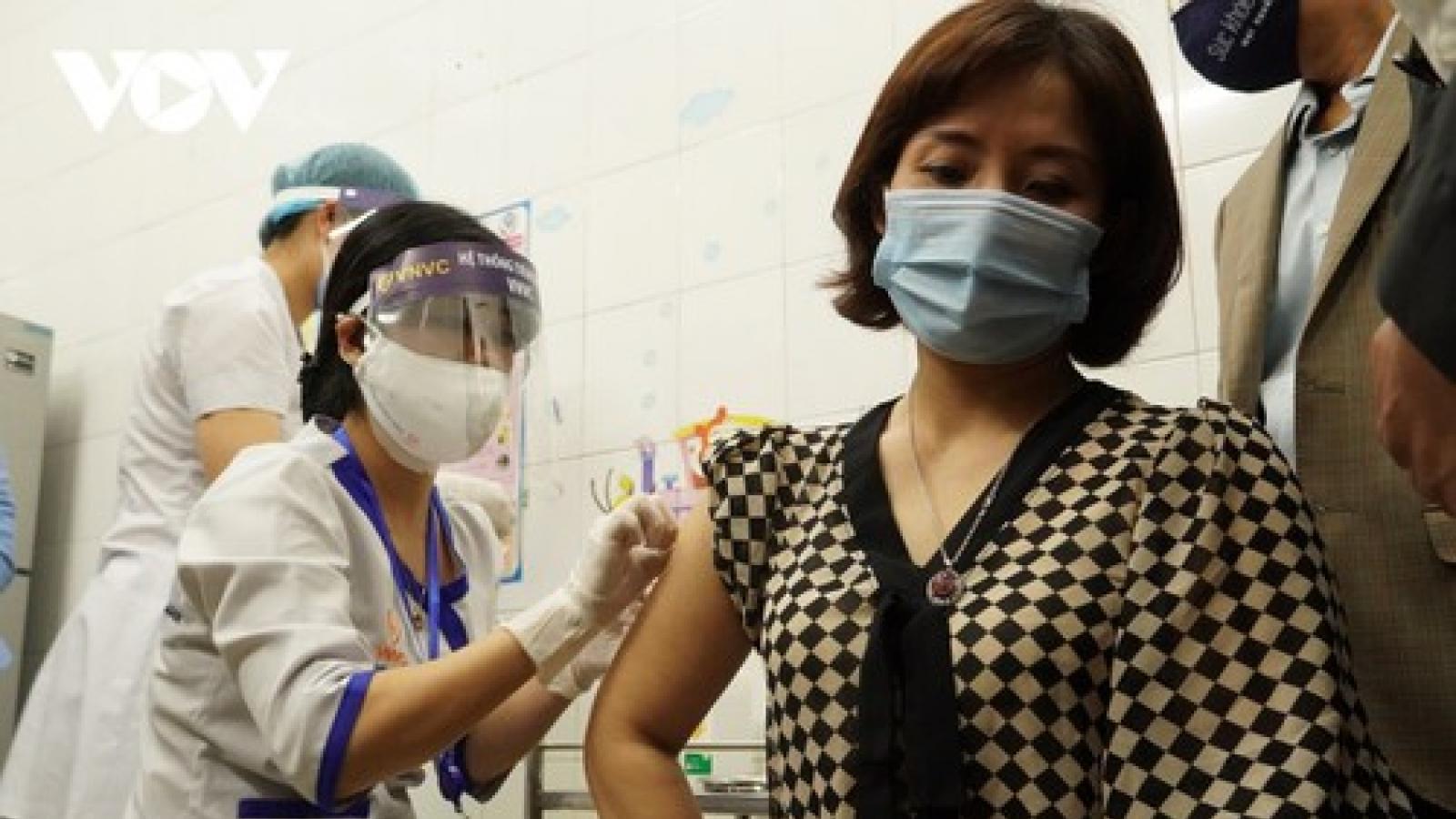 Phân bổ 20.000 liều vaccine COVID-19 từ Hải Dương tới 9 tỉnh khác