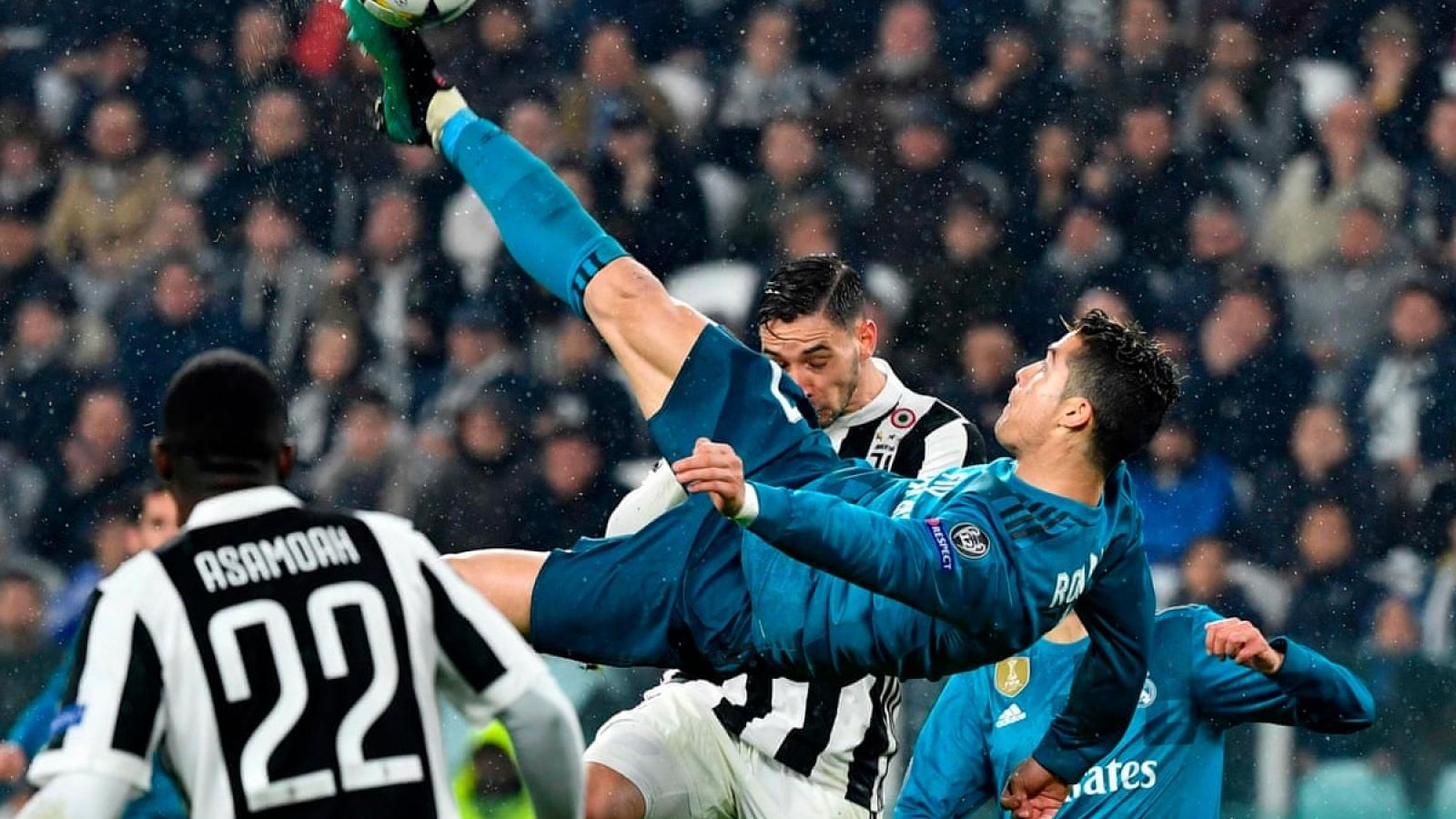 """Ngày này năm xưa: Ronaldo & Real Madrid """"hủy diệt"""" Juventus ngay tại Turin"""