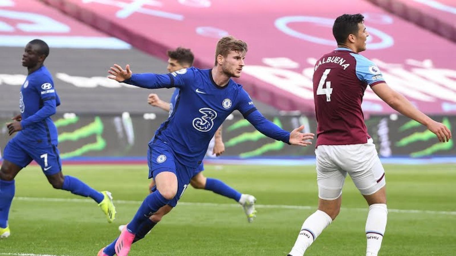 Bảng xếp hạng Ngoại hạng Anh mới nhất: Chelsea đe dọa tốp 3, MU níu kéo hy vọng