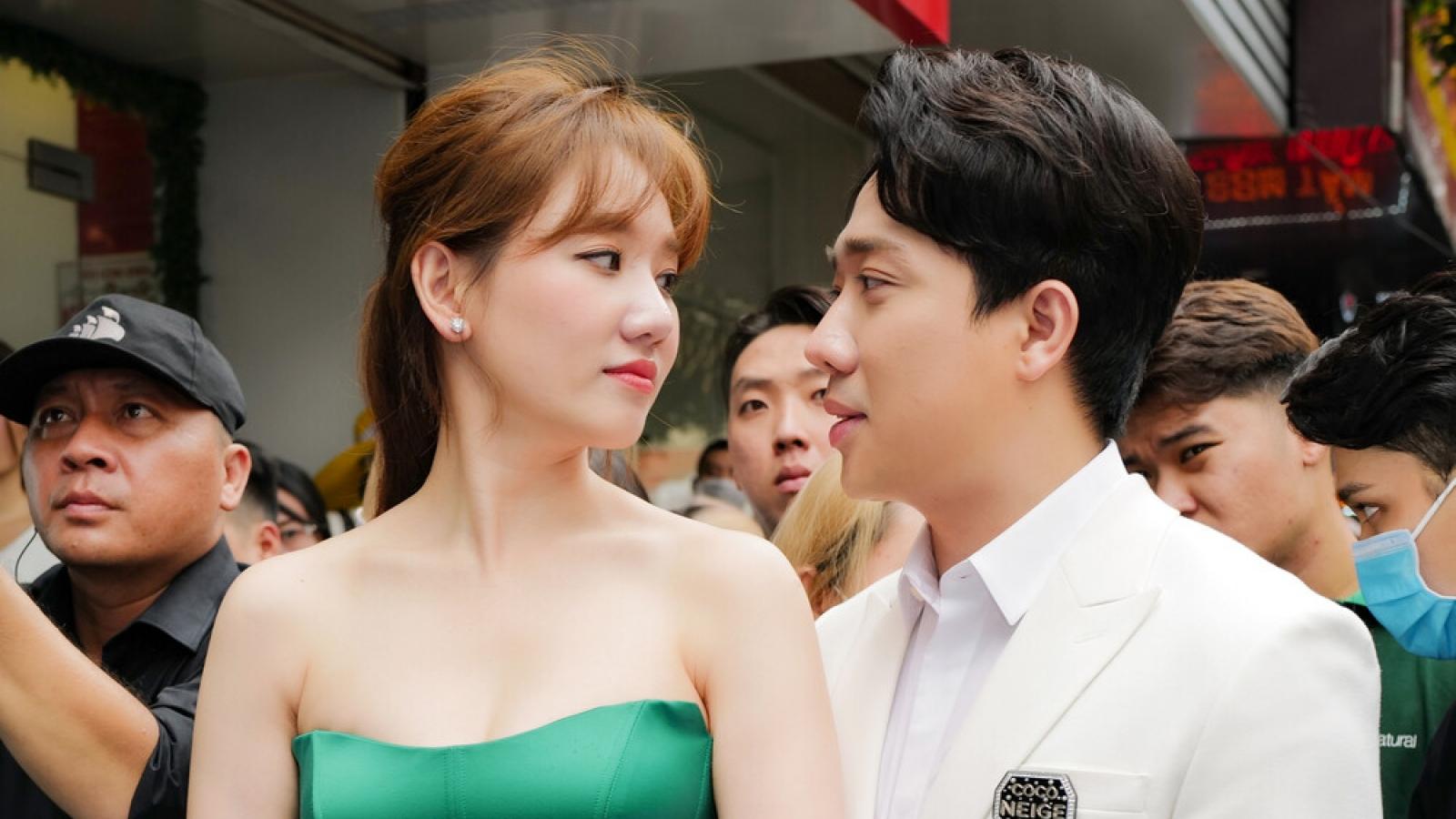 """Chuyện showbiz: Hari Won khen ngợi Trấn Thành là người chồng """"điểm 10"""""""