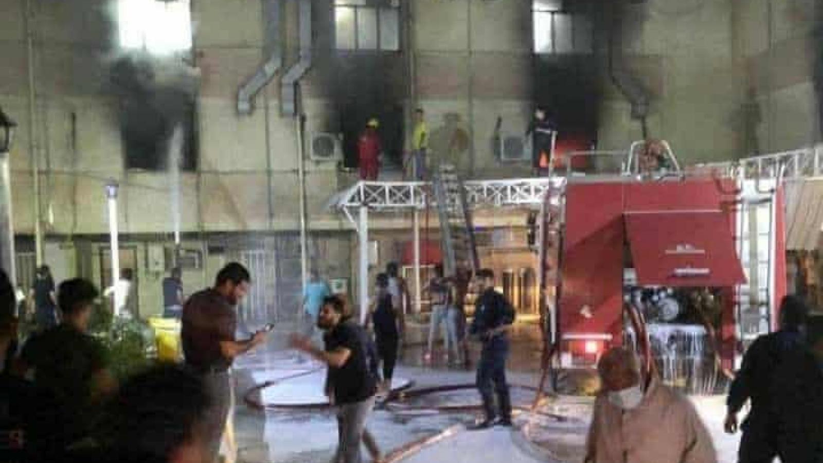 Cháy bệnh viện ở thủ đô Iraq, 27 người chết, 46 người bị thương