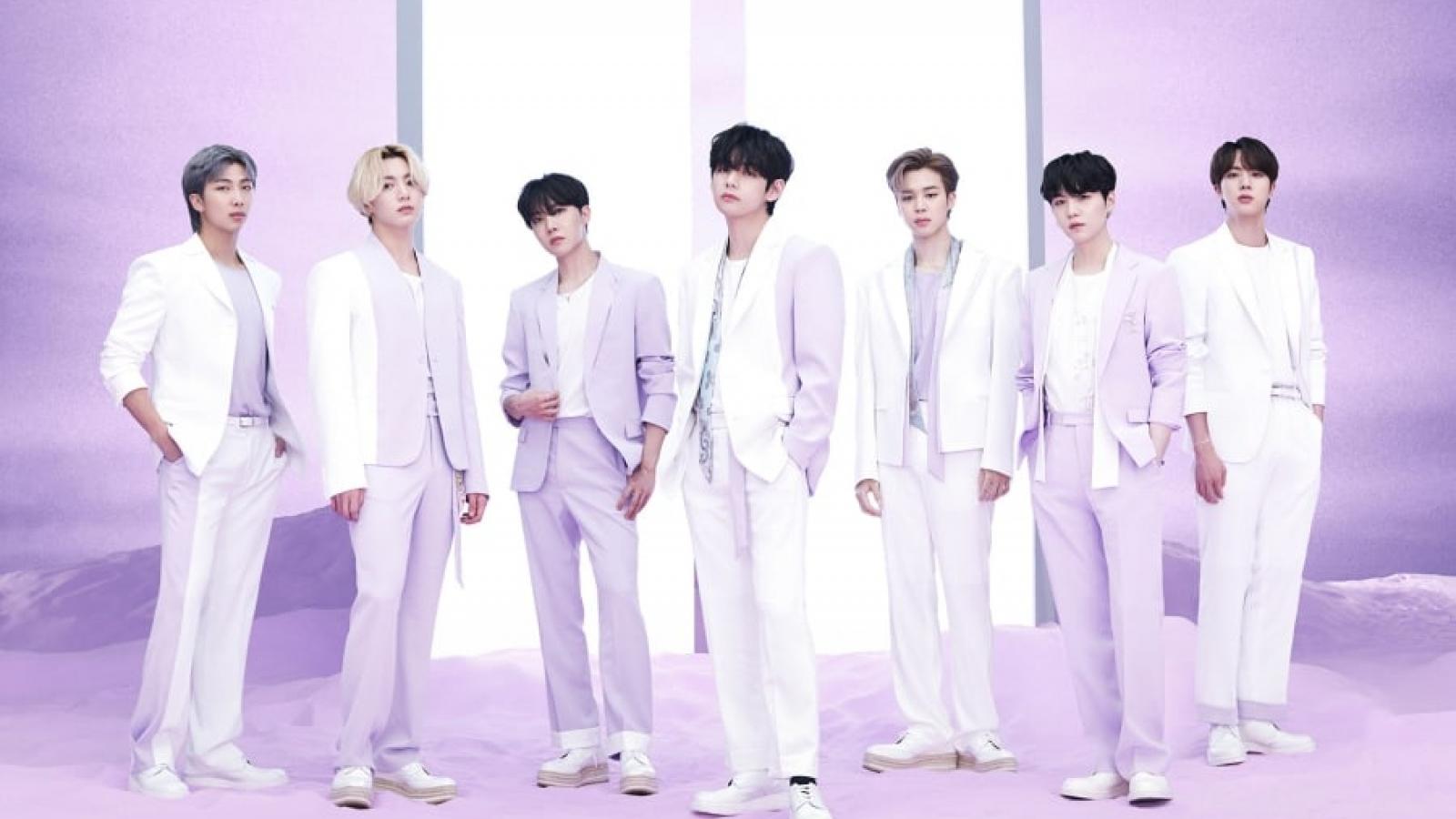 "BTS tiết lộ về show trực tuyến ""Bang Bang Con 2021"""