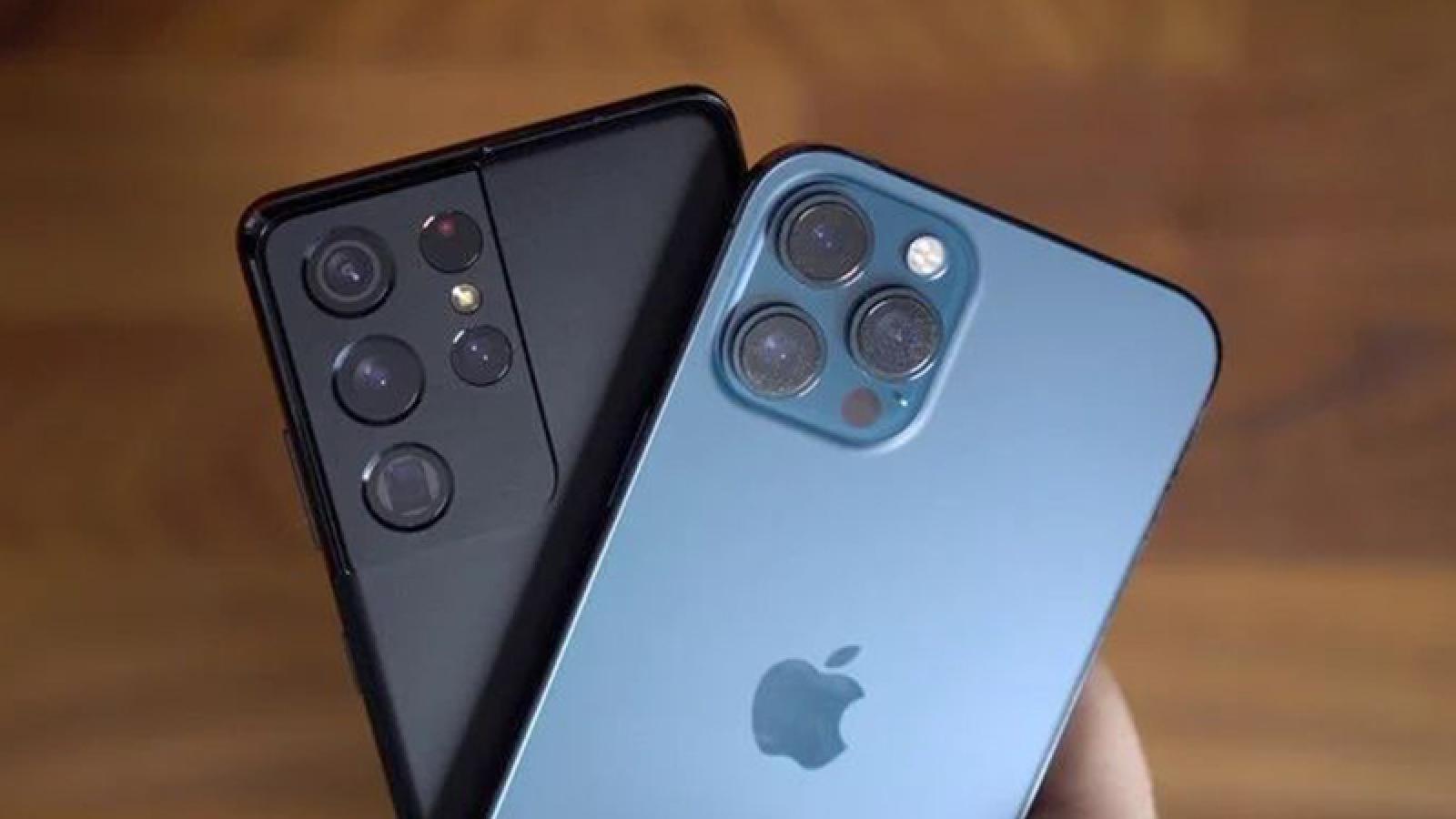 Dòng iPhone 12 giữ giá trị tốt hơn 20% so với Galaxy S21