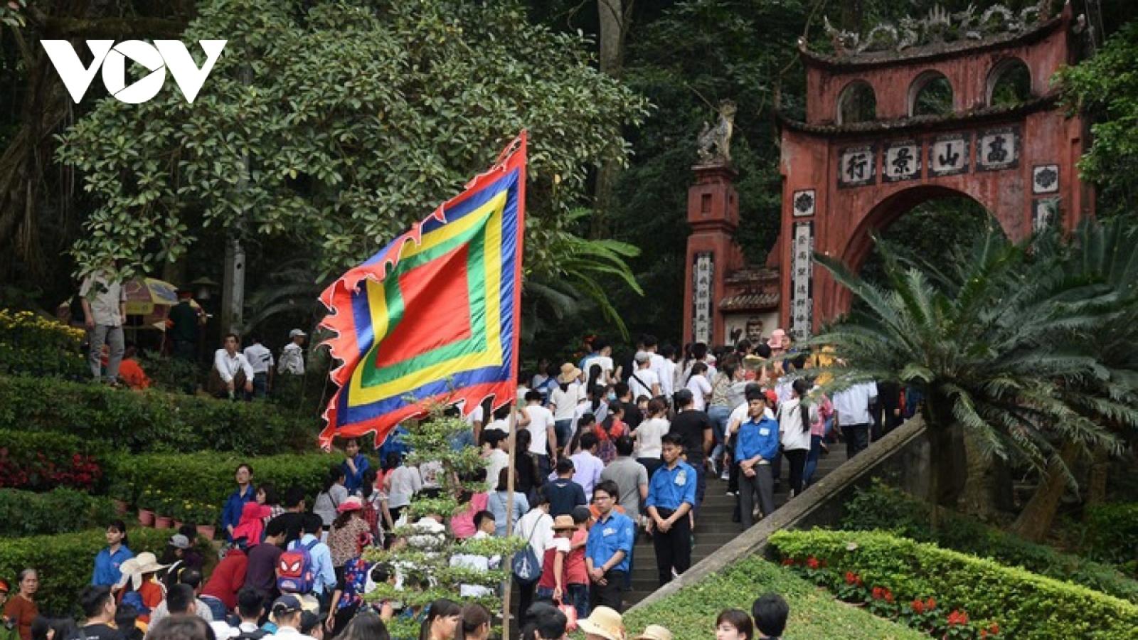Phú Thọ tổ chức bắn pháo hoa tầm cao dịp Giỗ Tổ Hùng Vương 2021