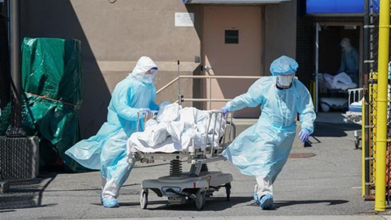 Covid-19 khiến tỷ lệ tử vong ở Mỹ tăng cao nhất trong năm 2020