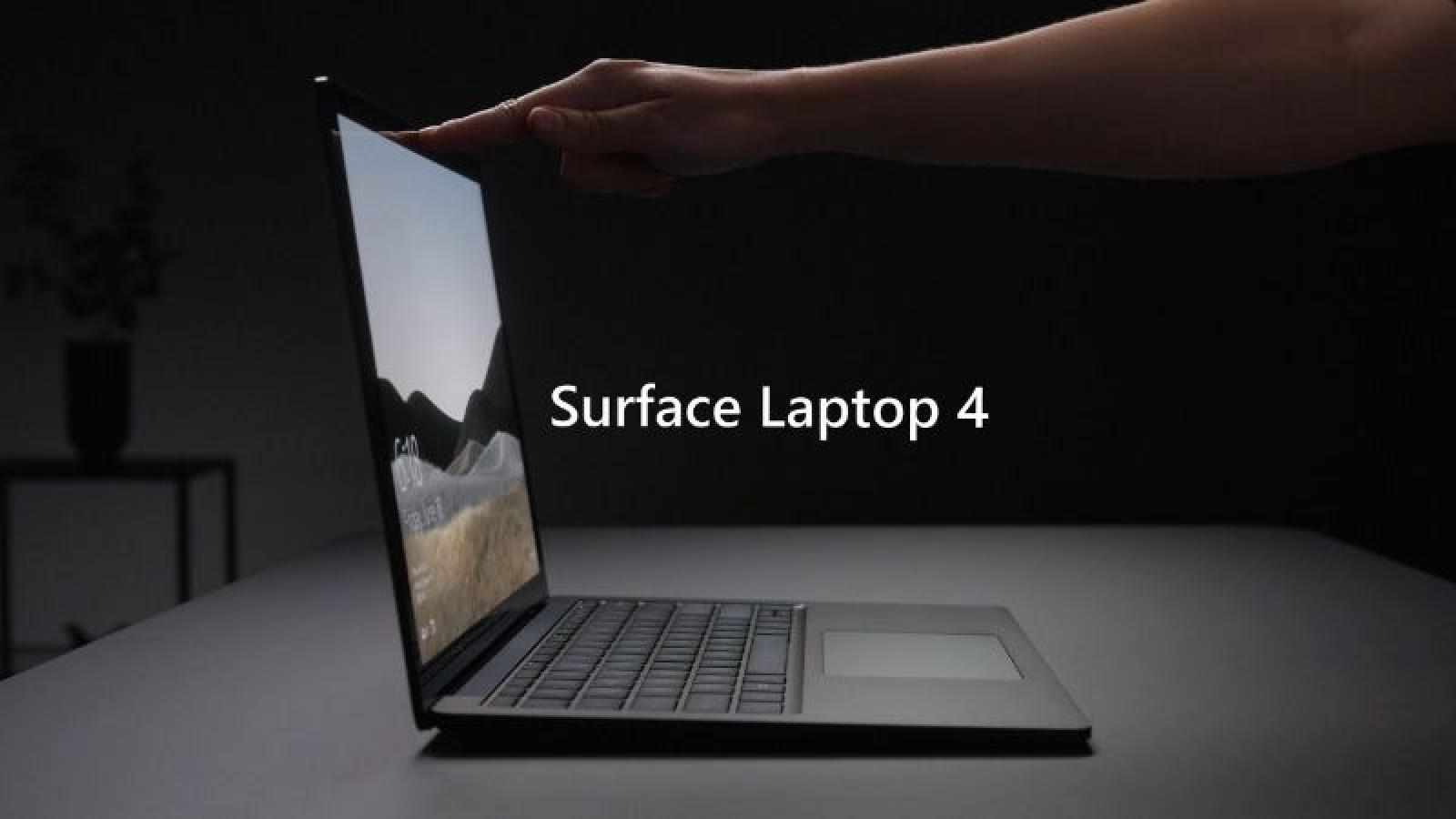 Microsoft ra mắt Surface Laptop 4 mới nhanh hơn, thoại video tốt hơn