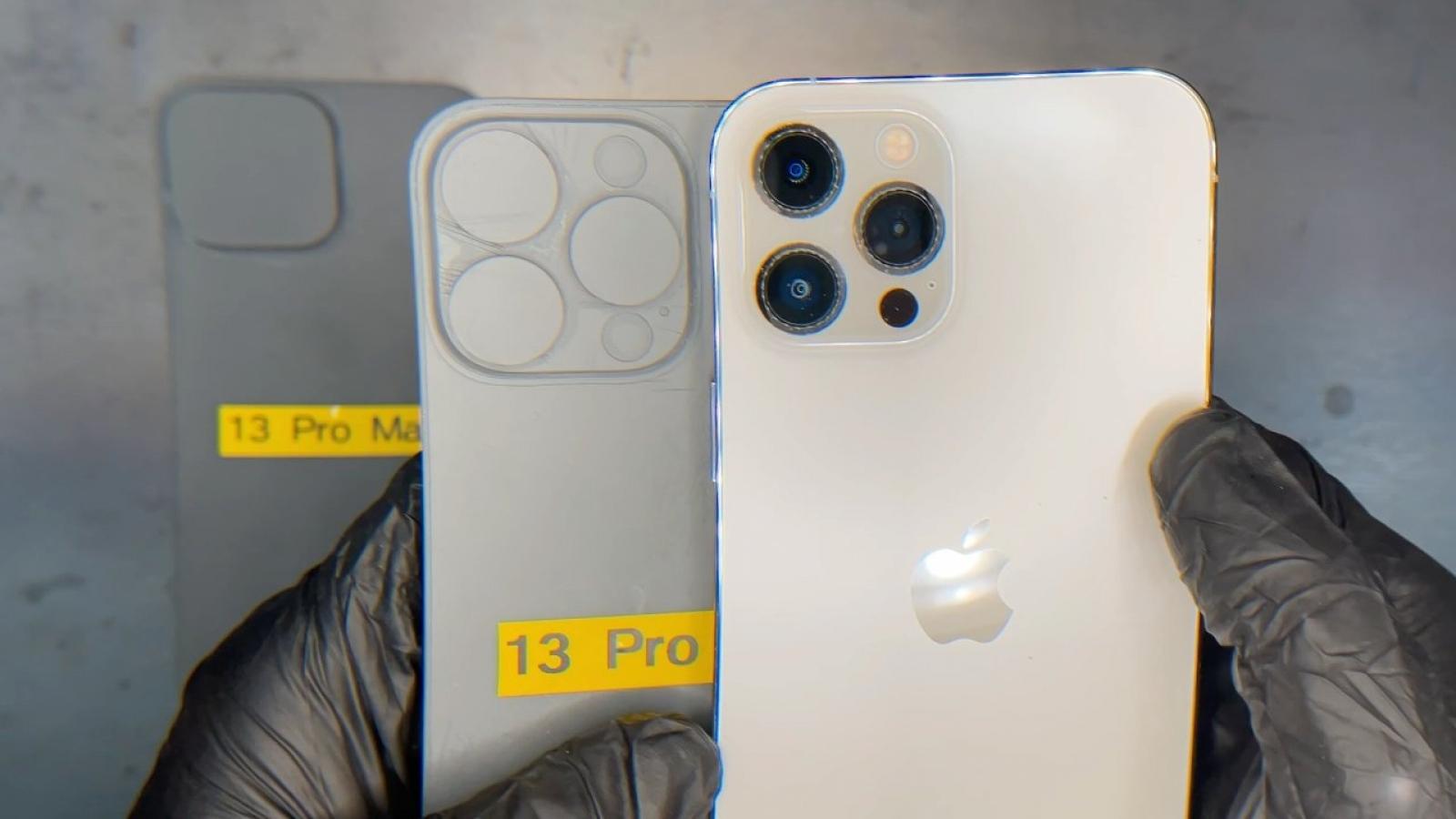 Video vén màn bí ẩn thiết kế camera trên iPhone 13 Pro Max