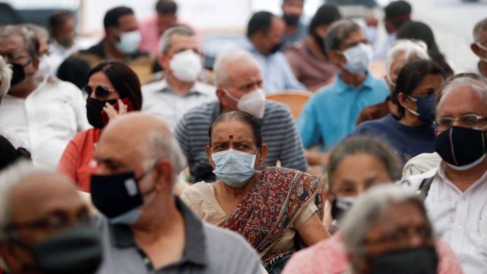 Ấn Độ ghi nhận số ca mắc Covid-19 kỷ lục trong một ngày