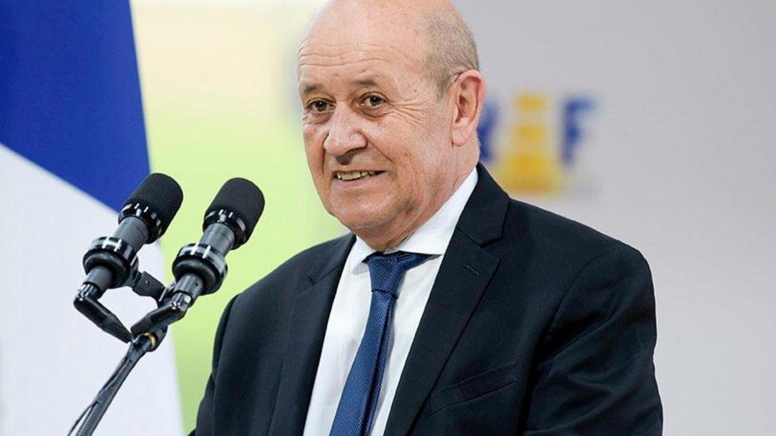 Ngoại trưởng Pháp thăm Ấn Độ, công bố tham gia Sáng kiến Ấn Độ Dương – Thái Bình Dương