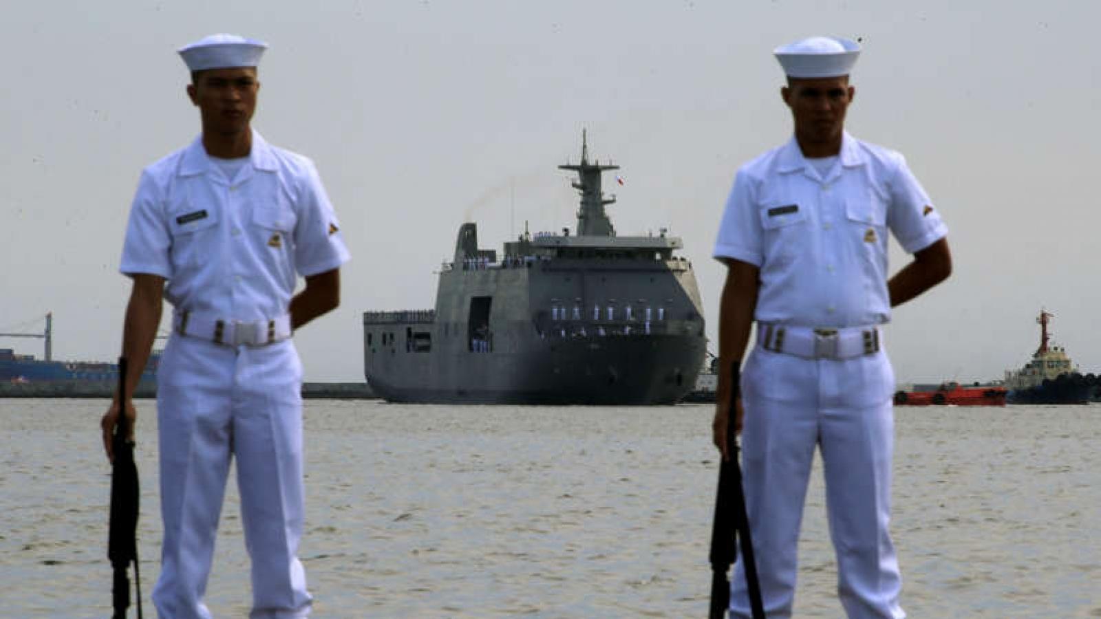 Philippines gửi 2 công hàm phản đối sự hiện diện của tàu thuyền Trung Quốc trên Biển Đông