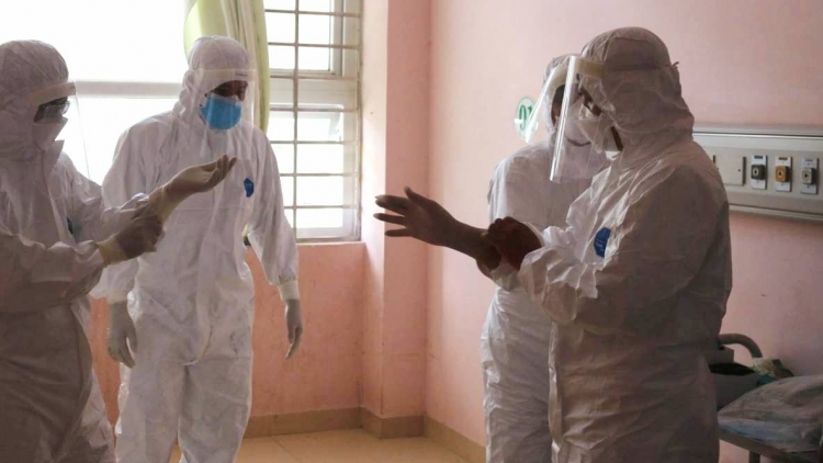 Border locality upgrades field hospital amid COVID-19 fears