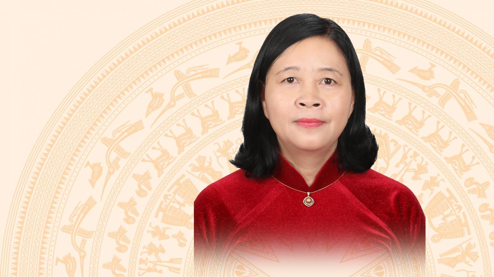 Chân dung Trưởng Ban Dân vận Trung ương Bùi Thị Minh Hoài