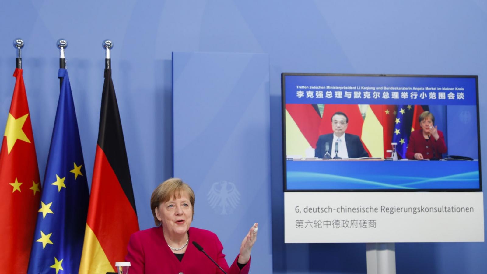 Đức giục Trung Quốc sớm nối lại đối thoại trong các chủ đề nhạy cảm