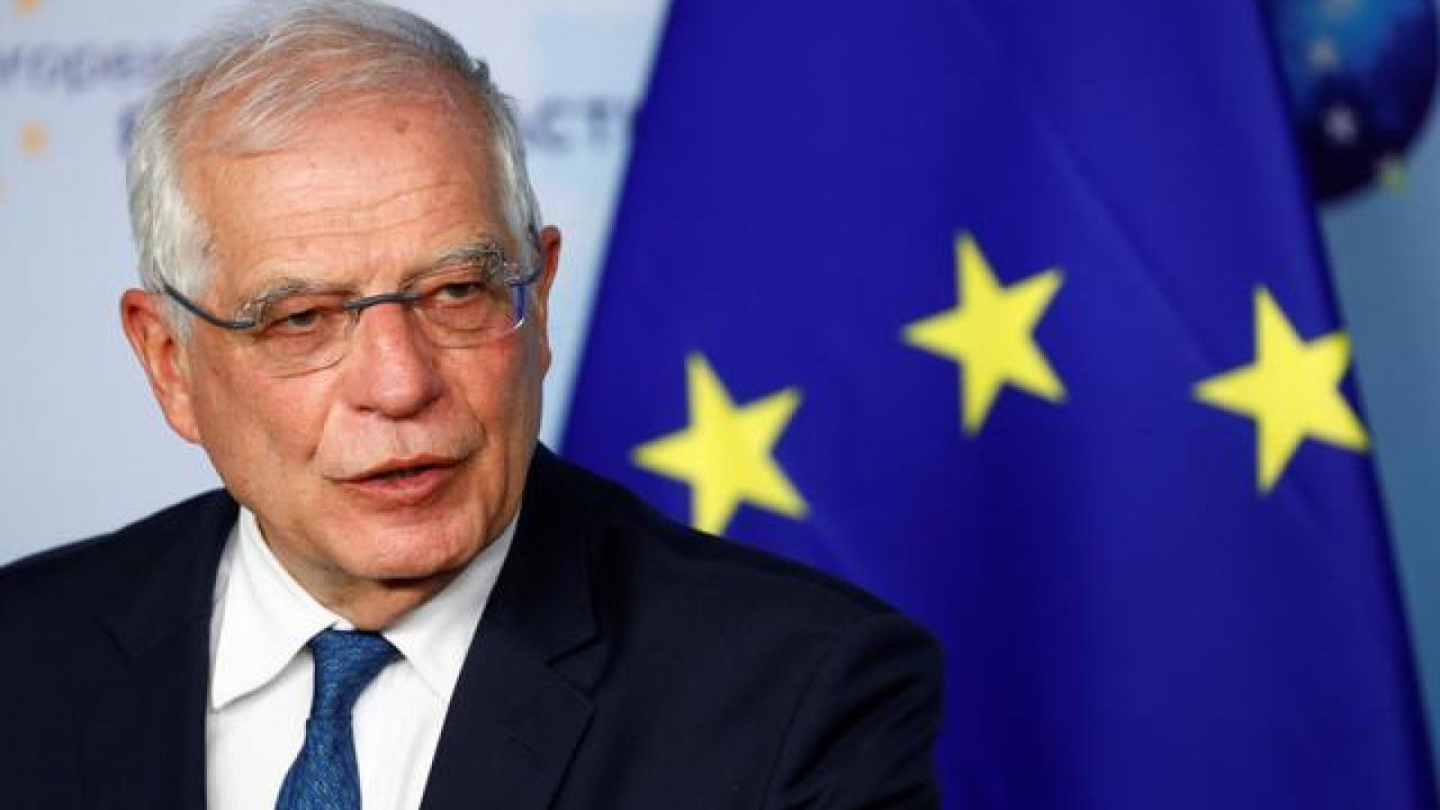 EU kêu gọi Nga rút quân khỏi khu vực biên giới với Ukraine