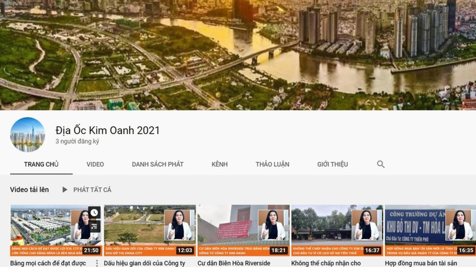 Bị mạng xã hội tấn công, Kim Oanh Group đề nghị Bộ Công an vào cuộc