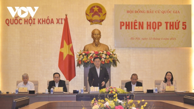Top Vietnamese legislator chairs fifth session of National Election Council