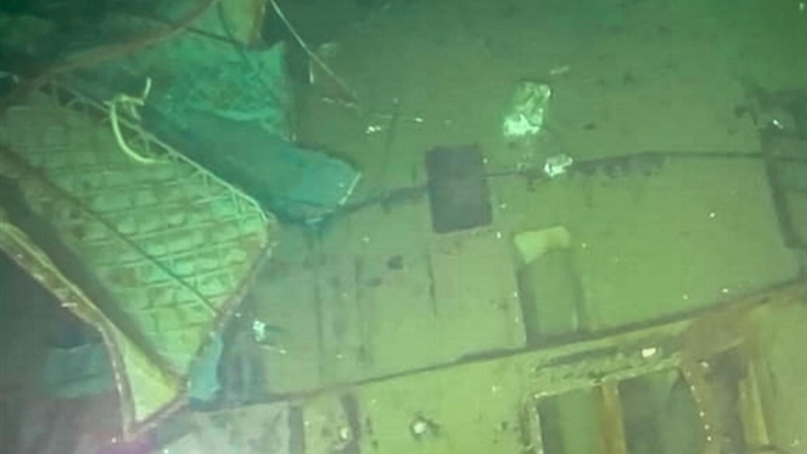 Hình ảnh tàu ngầm Indonesia vỡ làm ba, toàn bộ 53 thủy thủ đoàn hy sinh