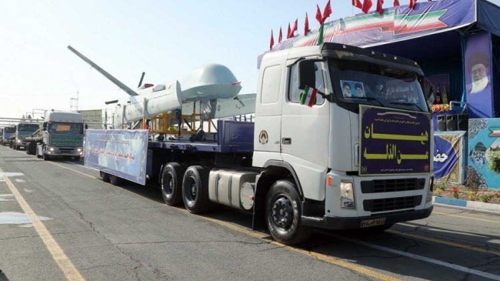 Iran khoe loạt UAV tự sản xuất trong lễ duyệt binh Ngày Quân đội quốc gia