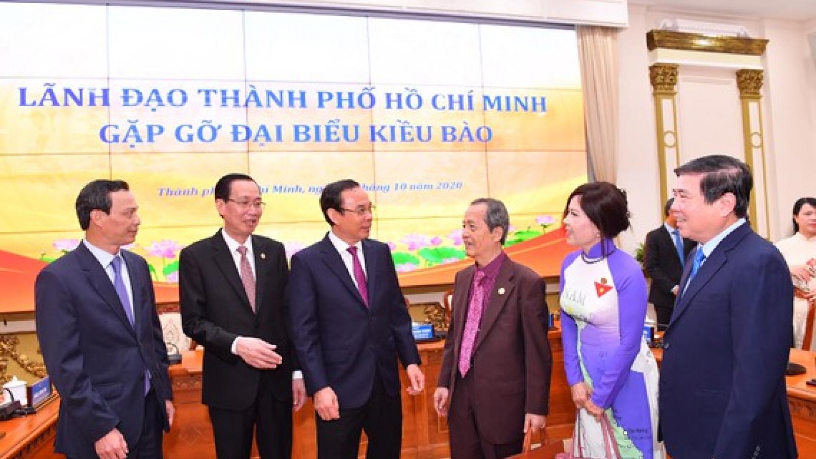 Thành phố Hồ Chí Minh trân trọng sự đóng góp của bà con kiều bào