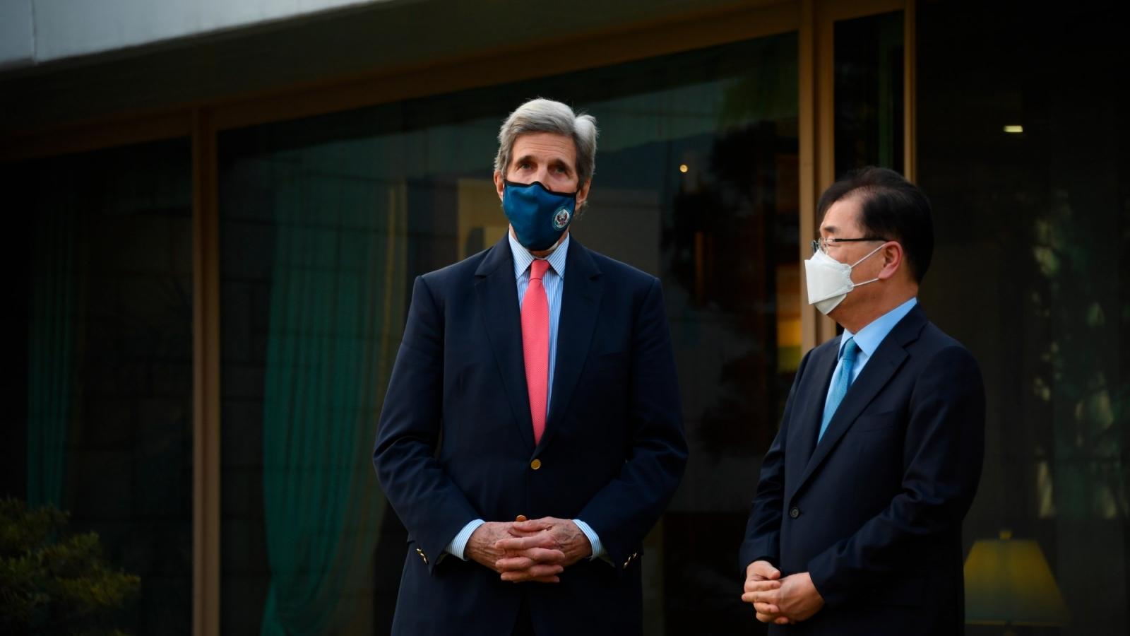 Hàn Quốc và Mỹ có quan điểm trái chiều về kế hoạch xả thải của Nhật Bản