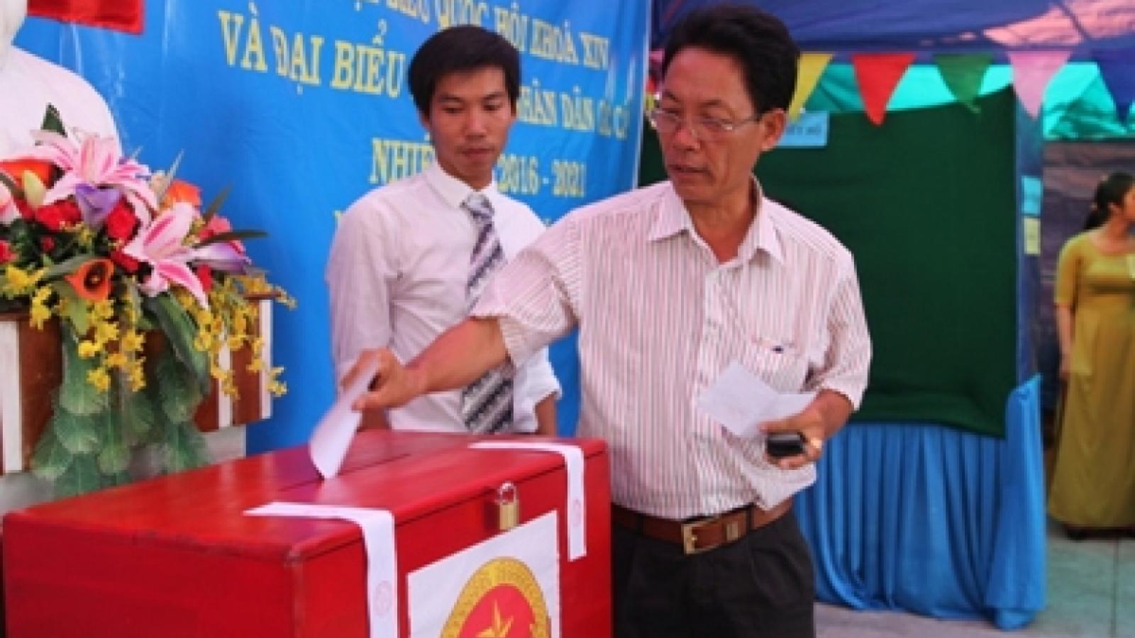 6 xã biên giới tại huyện Nam Giang, tỉnh Quảng Nam được bầu cử sớm vào ngày 16/5