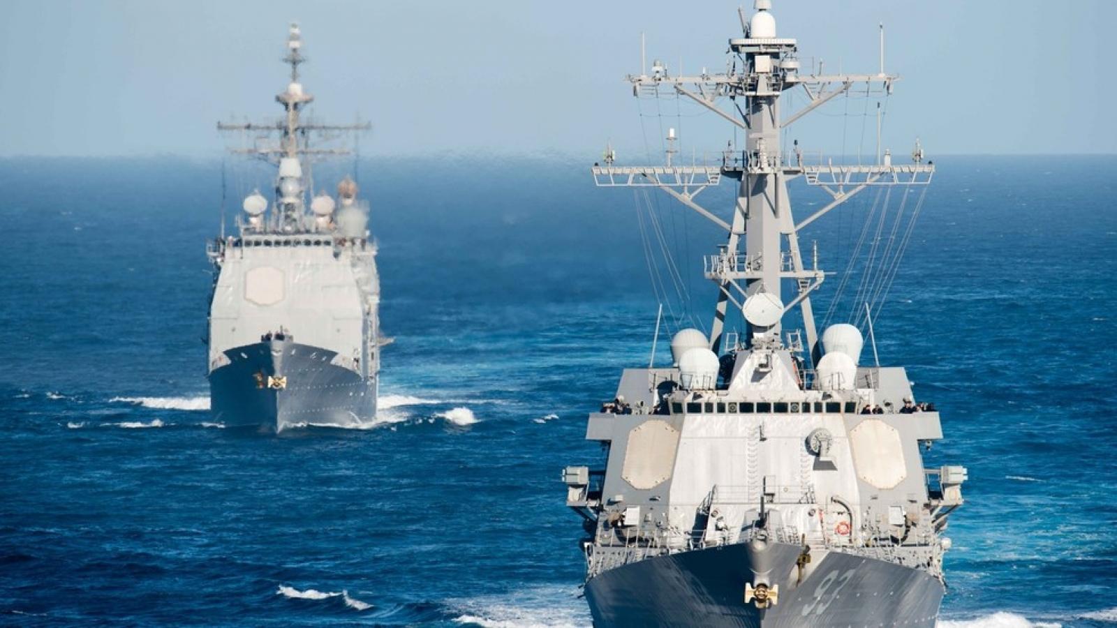 """Nga tố Mỹ """"khiêu khích"""", đặt câu hỏi về sự hiện diện của nước này ở Biển Đen"""