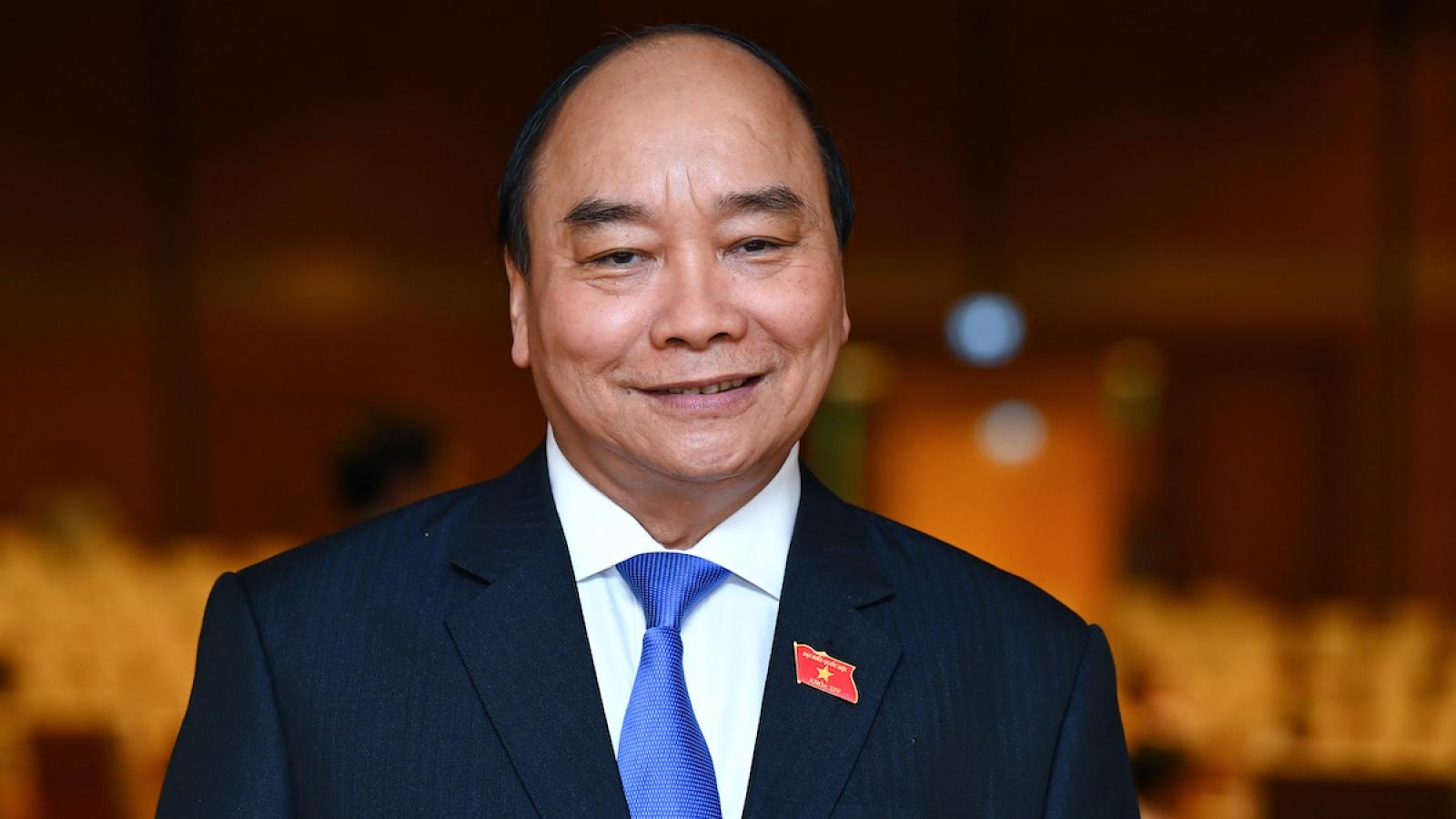Tổng thống UAE gửi điện chúc mừng Chủ tịch nước Nguyễn Xuân Phúc