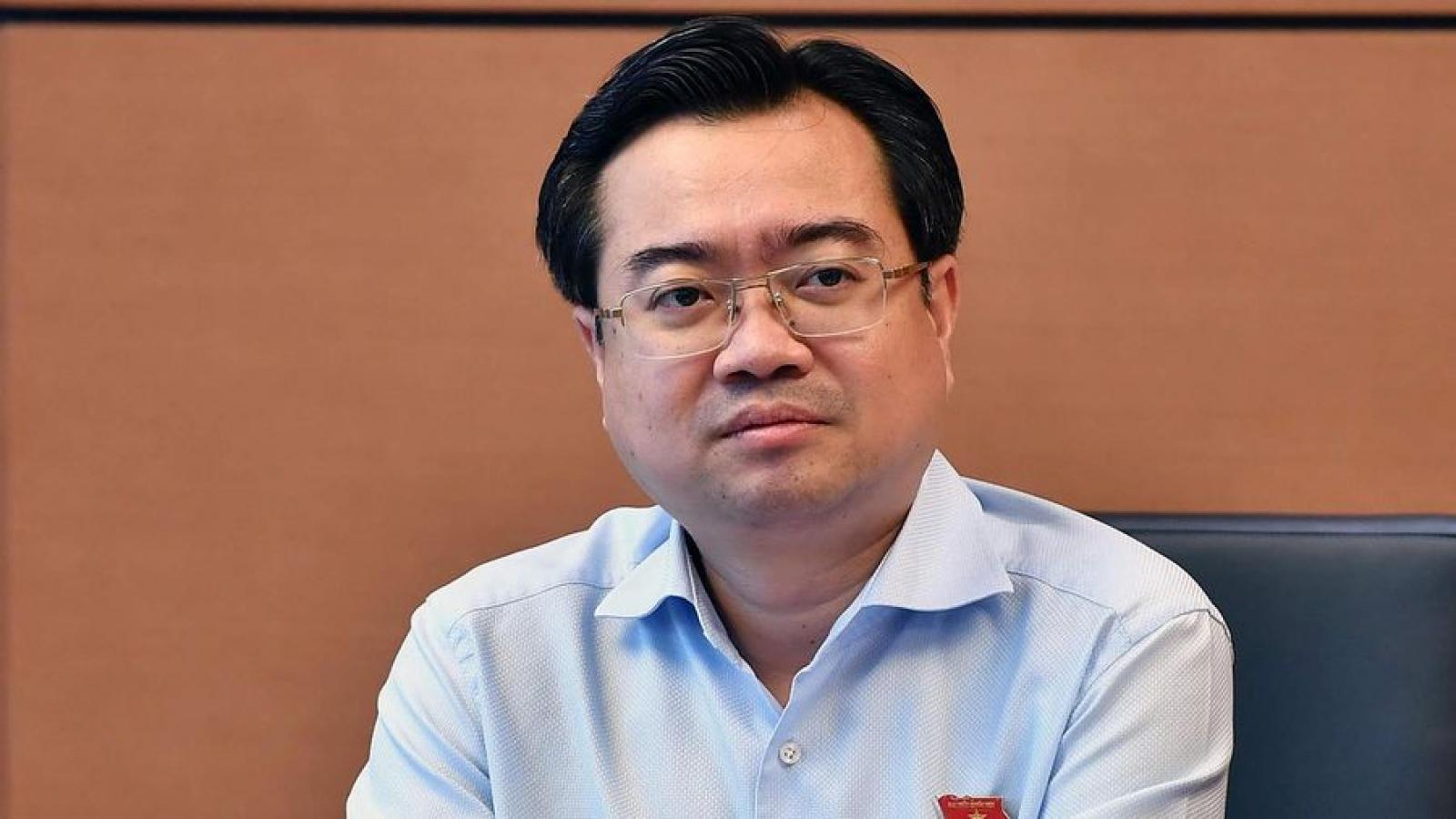 Bộ trưởng Bộ Xây dựng Nguyễn Thanh Nghị là thành viên trẻ nhất trong Chính phủ