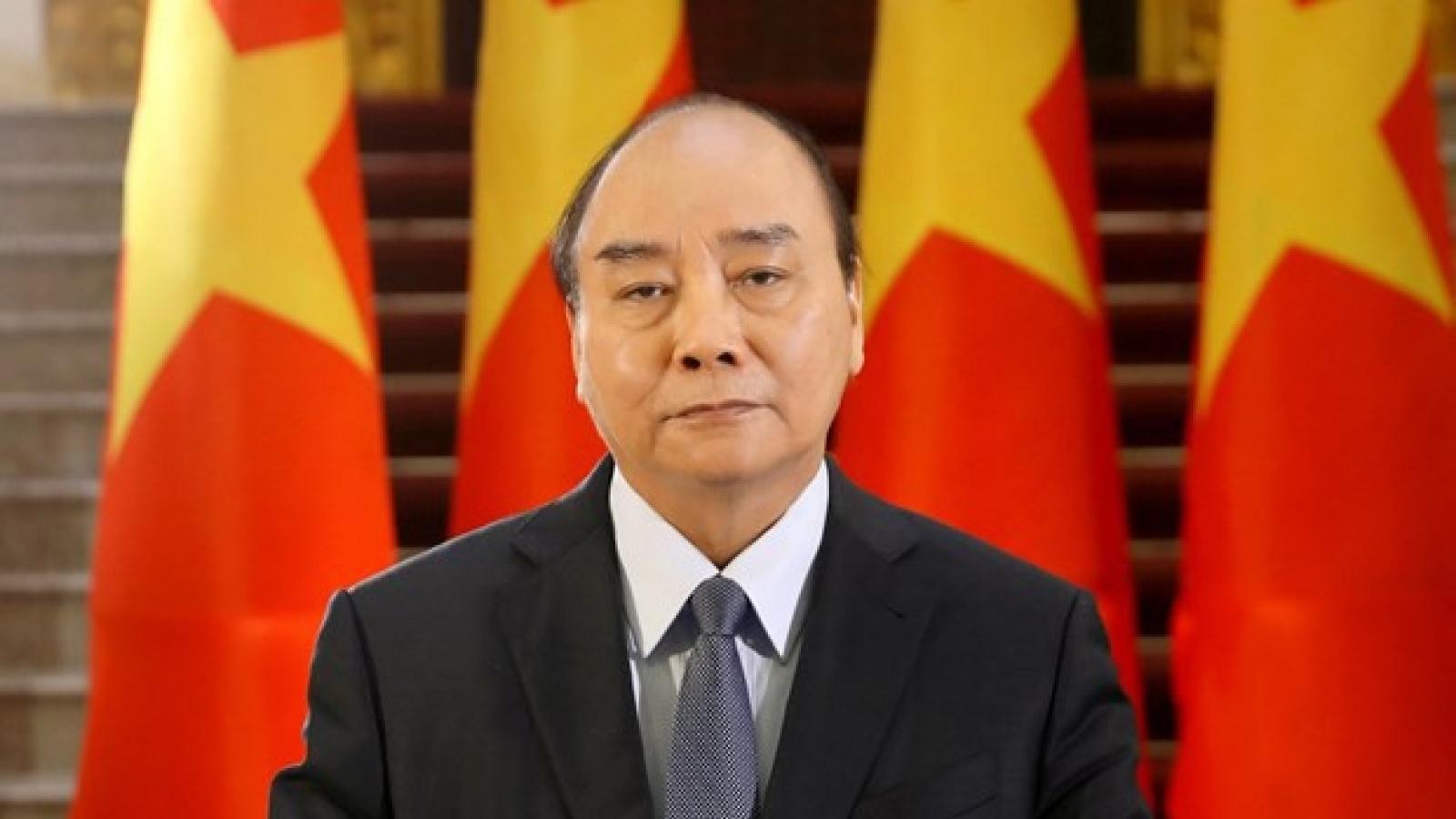 Chủ tịch nước Nguyễn Xuân Phúc chủ trì Phiên thảo luận mở tại HĐBA Liên Hợp Quốc