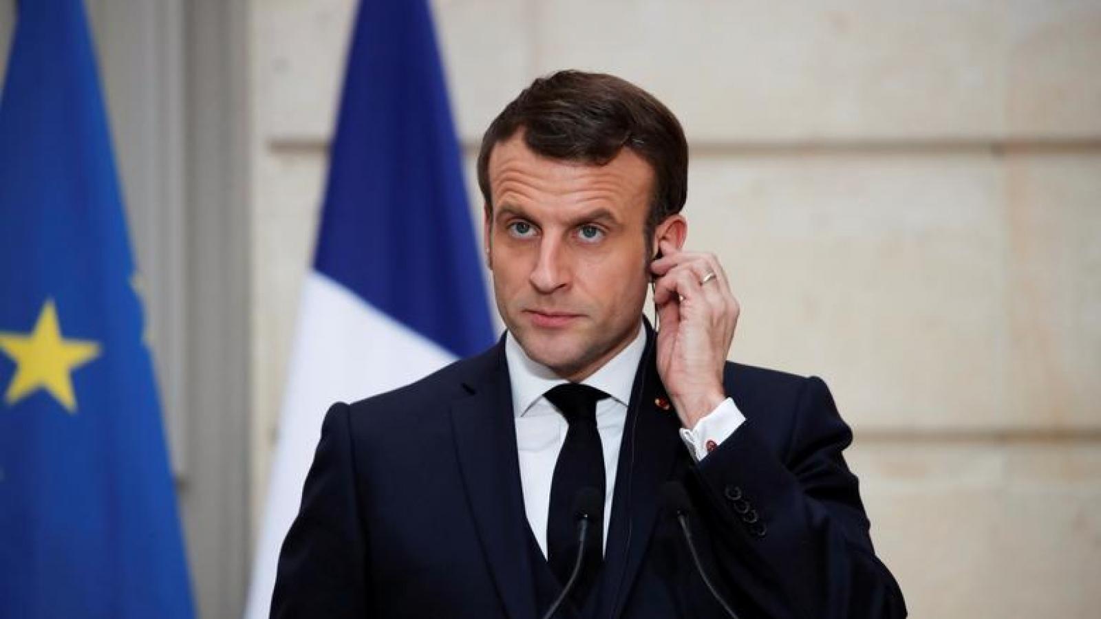 """Tổng thống Pháp: Quốc tế cần vạch ra """"những lằn ranh đỏ"""" với Nga"""