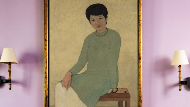 Vietnamese painting sale hits record high at Sotherby's auction