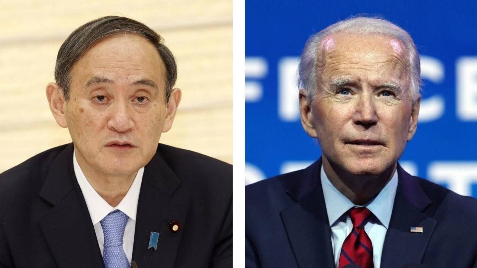 Thủ tướng Nhật Bản sẽ lần đầu tiên gặp Tổng thống Mỹ Biden vào ngày 16/4