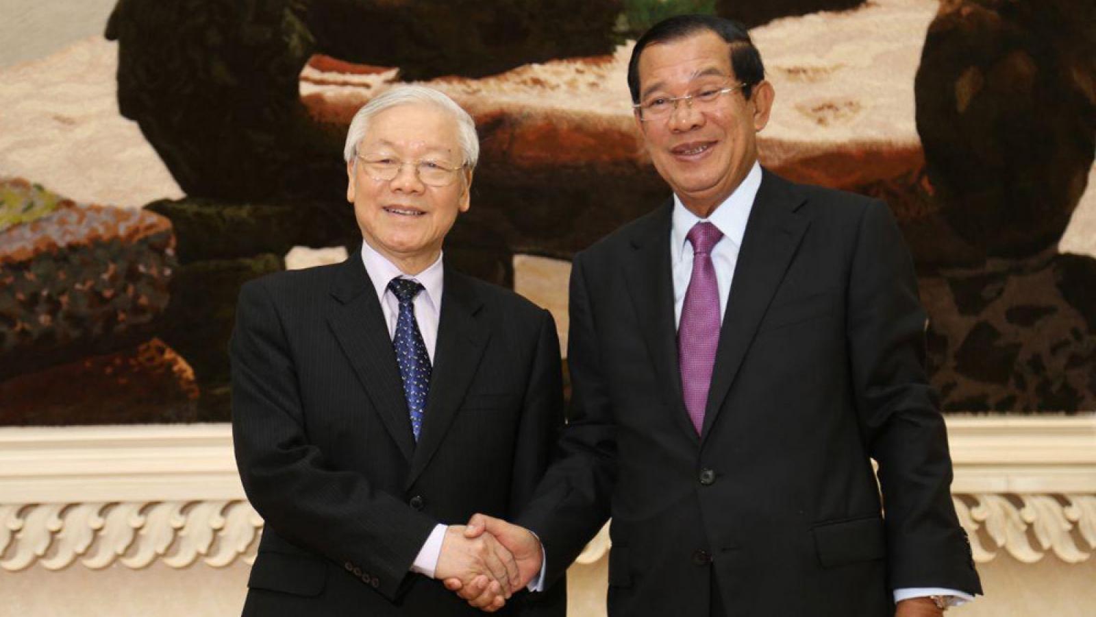Chủ tịch Đảng Nhân dân CampuchiaHun Sen gửi thư cảm ơn Tổng Bí thư Nguyễn Phú Trọng