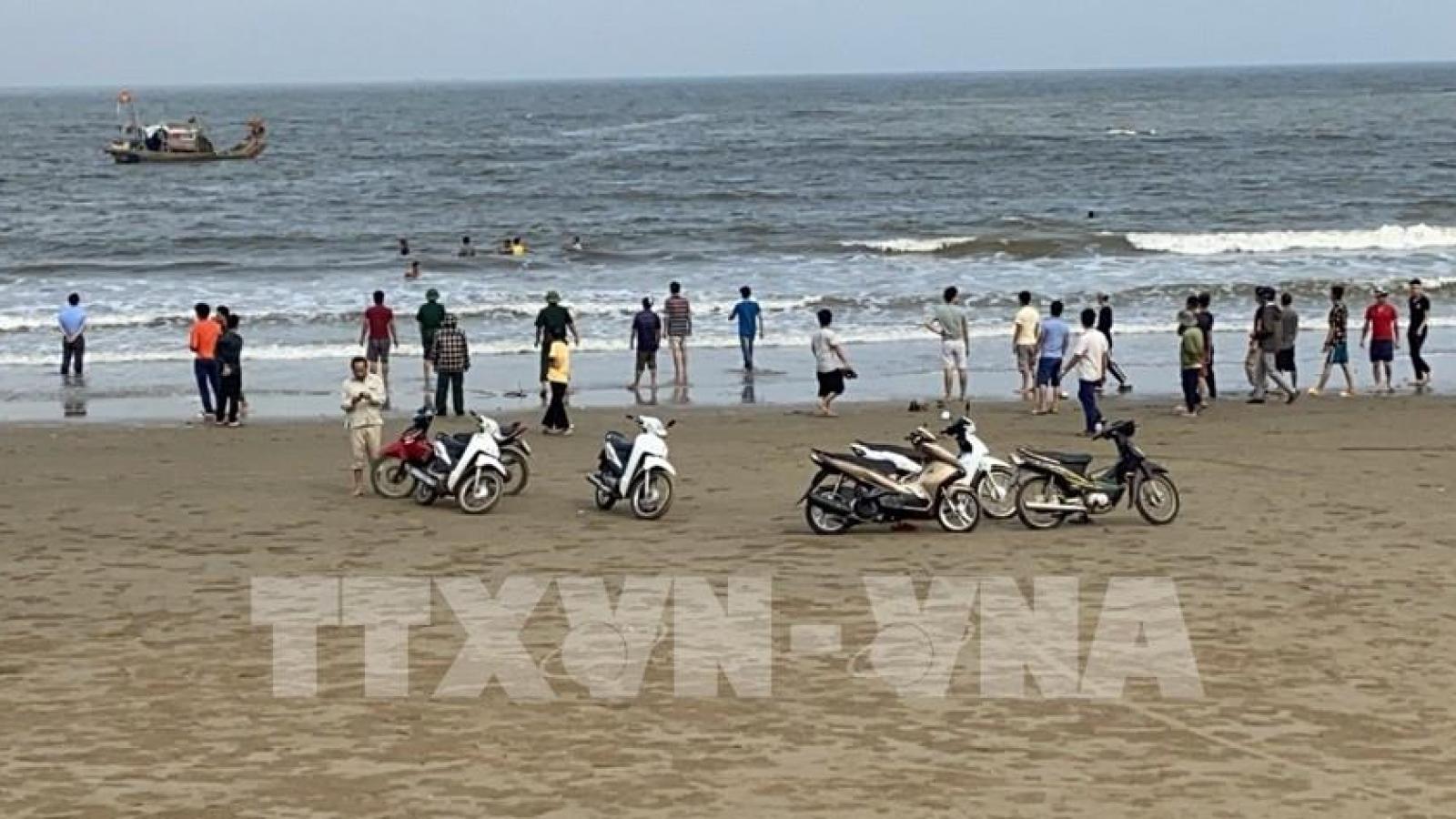 4 học sinh đuối nước ở Thanh Hóa đã được tìm thấy