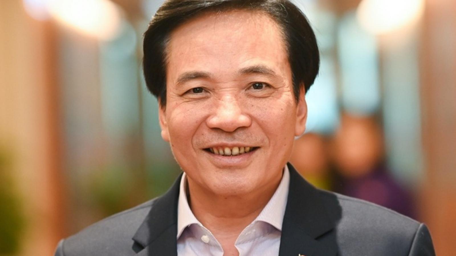 Ông Trần Văn Sơn kiêm giữ chức Chánh Văn phòng Ban Cán sự đảng Chính phủ