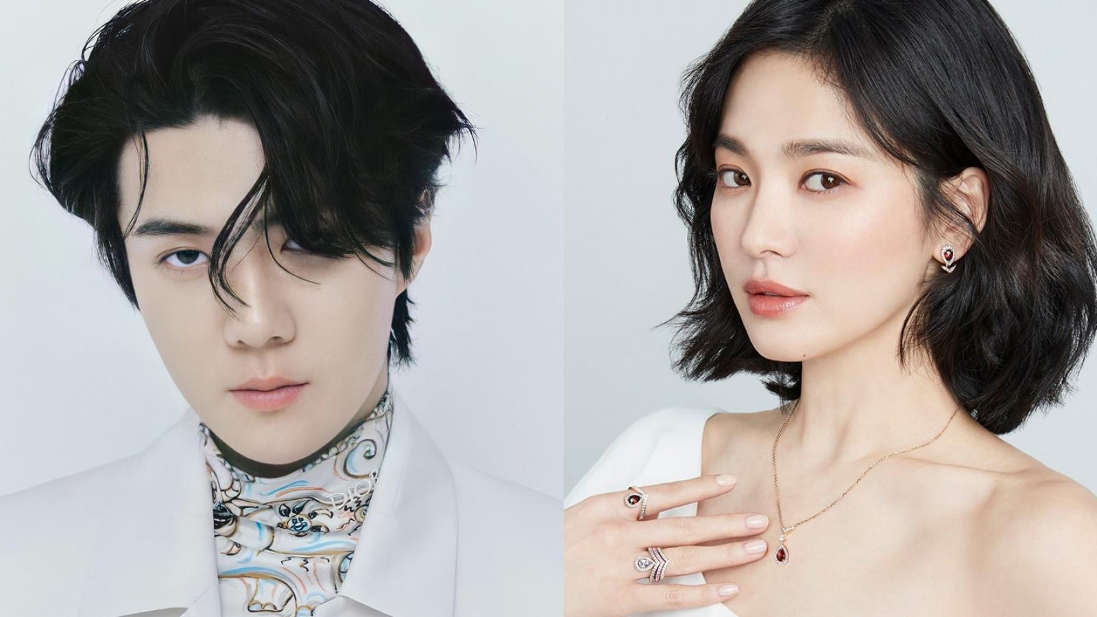 Sehun (EXO) sánh vai cùng Song Hye Kyo trong phim truyền hình mới