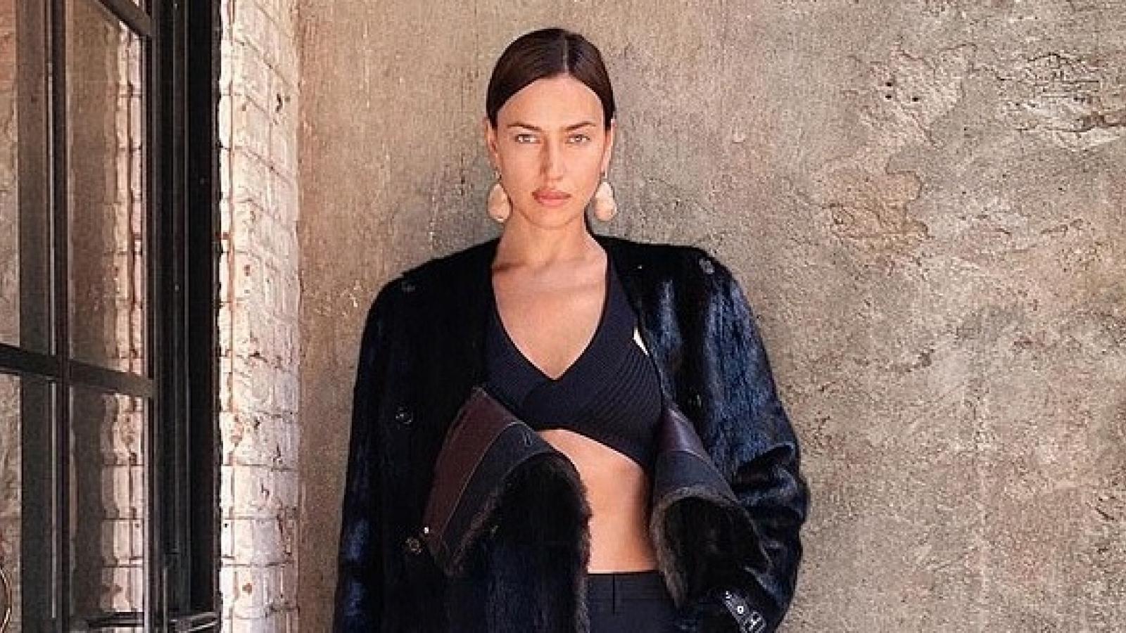 Irina Shayk nóng bỏng trong loạt ảnh do tình cũ Bradley Cooper chụp
