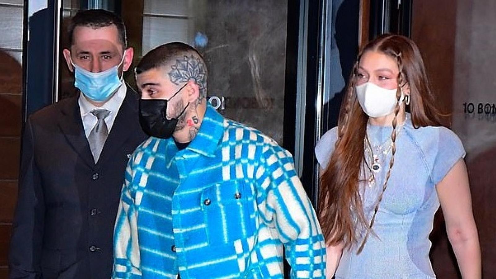 Gigi Hadid đón sinh nhật ấm áp bên bạn trai Zayn Malik