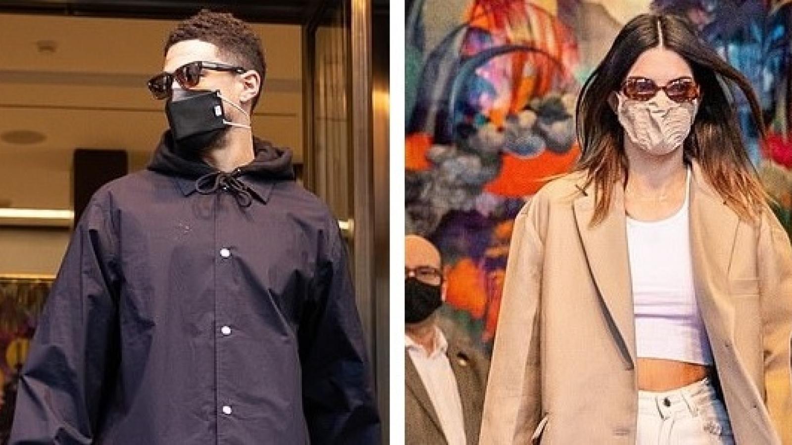 Kendall Jenner diện blazer sành điệu rời khỏi khách sạn cùng bạn trai